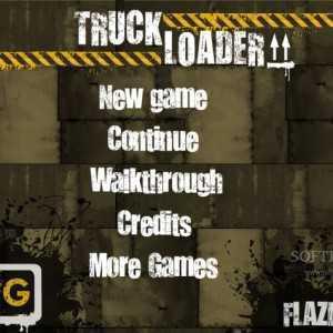 لعبة شاحنة النقل Truck Loader