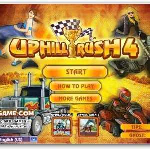 تحميل لعبة السباق المثير Uphill Rush 4