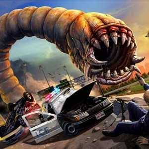 لعبة الدودة المفترسة Effing Worms 2