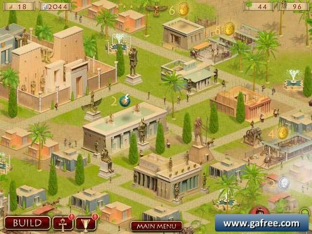 لعبة بناء مدينة الاهرامات Hexus