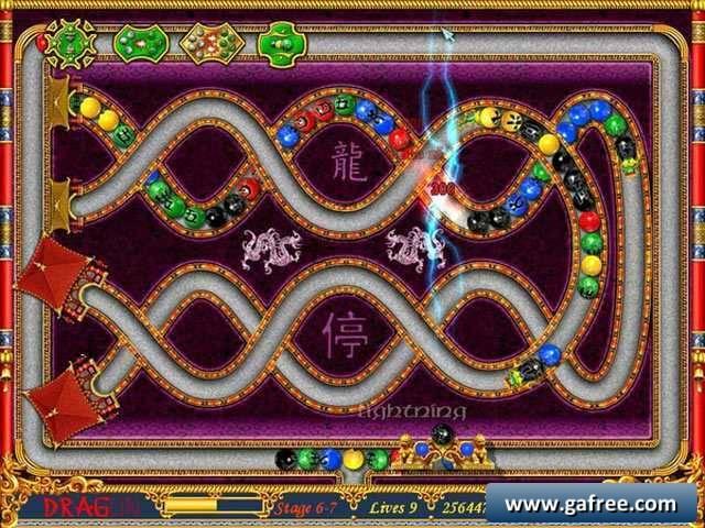 تحميل لعبة الكرات الملونة Dragon Bubbles
