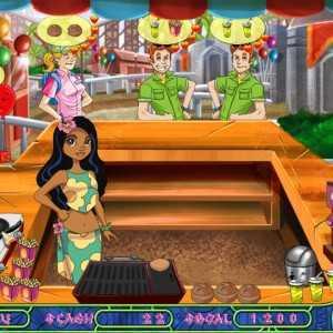 لعبة نادلة مطعم الشاطئ Tikibar