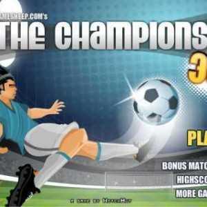لعبة دوري ابطال اوروبا The Champions 3D