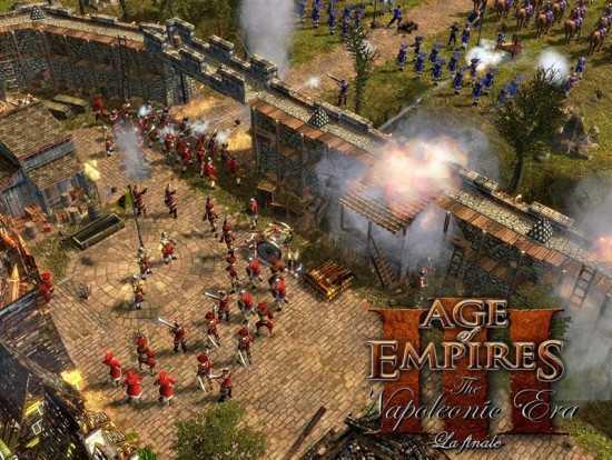 لعبة حرب نابليون Age of Empires III