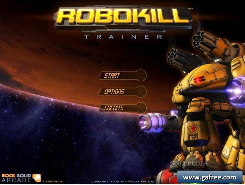 لعبة القتال مع رجال الفضاء Robokill Trainer