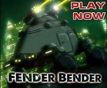 لعبة حرب السيارات Fender Bender
