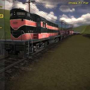لعبة قيادة القطارات Freight Train Simulator