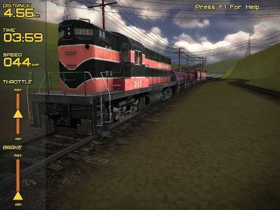 لعبة قيادة القطارات Freight Train Simulator Fts2-550x412