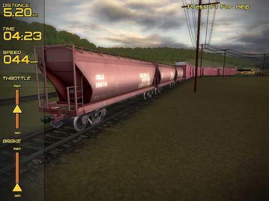 لعبة قيادة القطارات Freight Train Simulator Fts4-550x412
