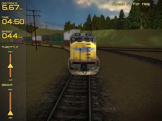 لعبة قيادة القطارات Freight Train Simulator Fts5-550x412