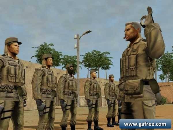 لعبة الحرب الاستراتيجية Soldner Secret Wars