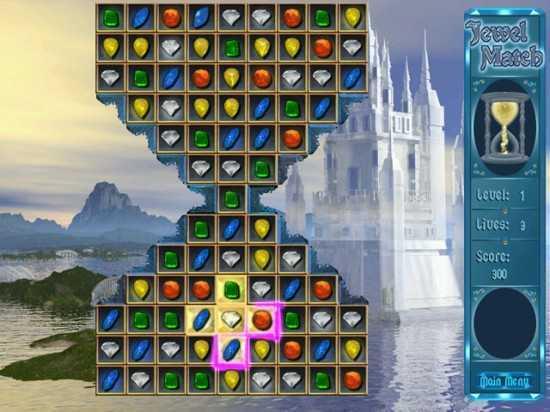 لعبة تفكير مجانا Jewel Match