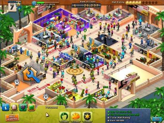 لعبة صاحبة المتجر Mall-a-Palooza