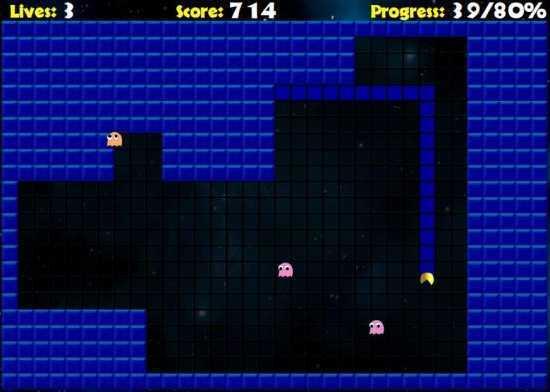 لعبة السرعة والتركيز Pac Xon