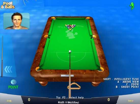 تحميل لعبة بلياردو مجانا Pool 8 Balls