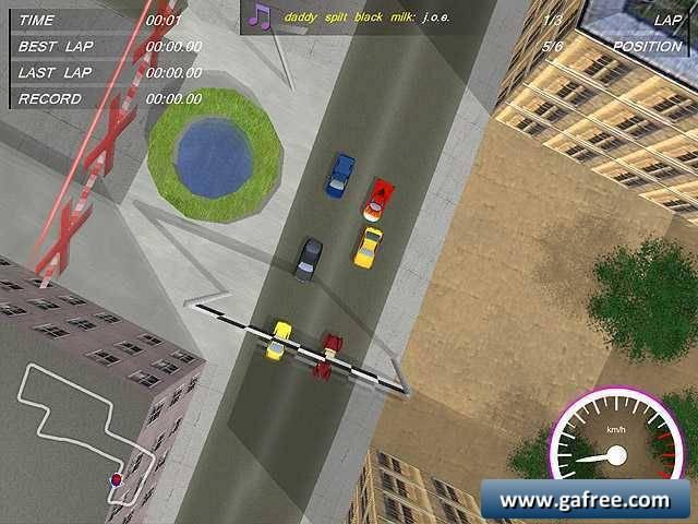 لعبة سباق الشوارع Shortcut Racers
