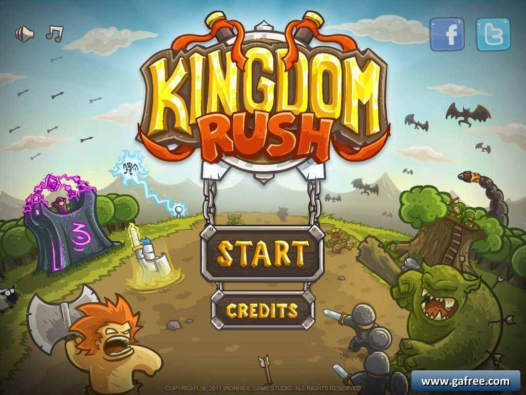 تحميل لعبة قتال الجيش Kingdom Rush