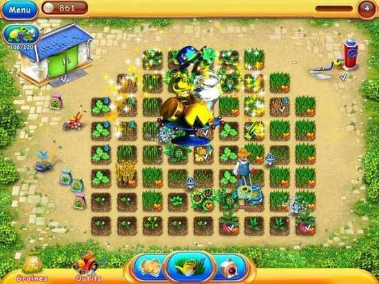 لعبة المزرعة الصغيرة Virtual Farm 2