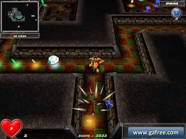 لعبة البحث عن الكنز Magic Maze