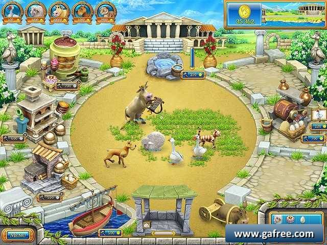 لعبة مزرعة روما القديمة Farm Frenzy: Ancient Rome