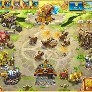 لعبة مزرعة ابطال فايكنغ Farm Frenzy: Viking Heroes