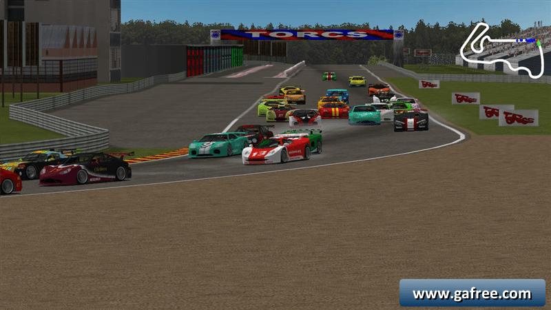 تحميل لعبة سباق السيارات TORCS The Open Racing